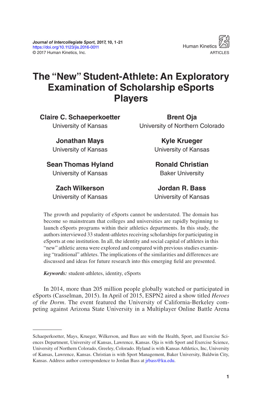 318383819 the new student athlete an exploratory examination of scholarship esports players