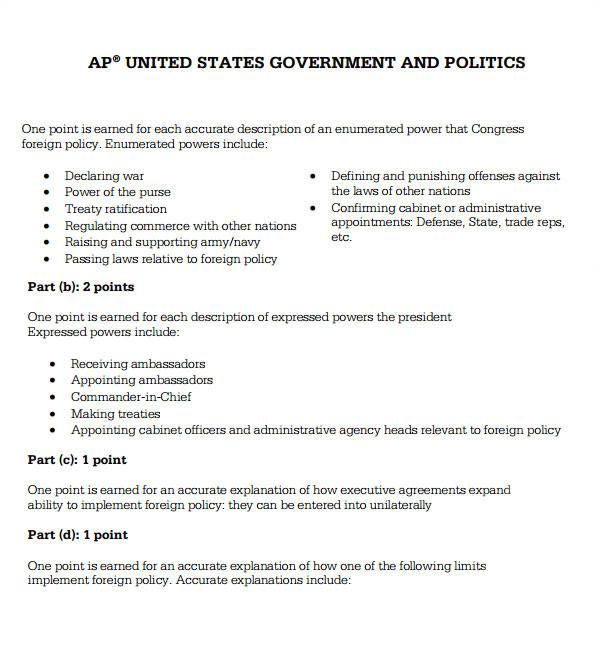 executive agreement template