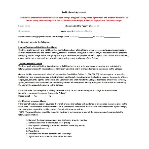 simple rental agreement