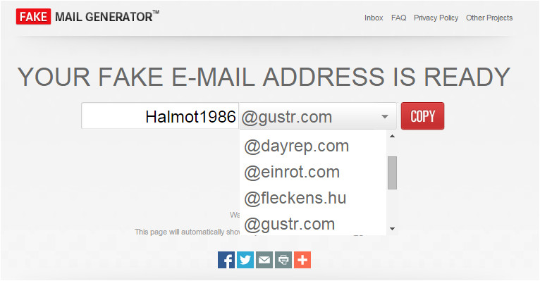 Fake Email Template Generator 3 Best Online Email Address Generators