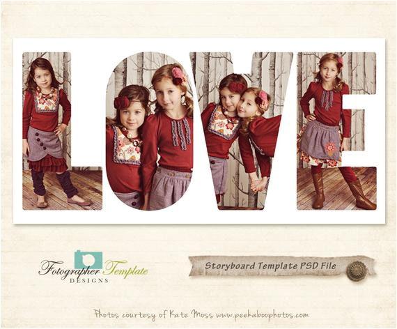 10x20 photography storyboard templates