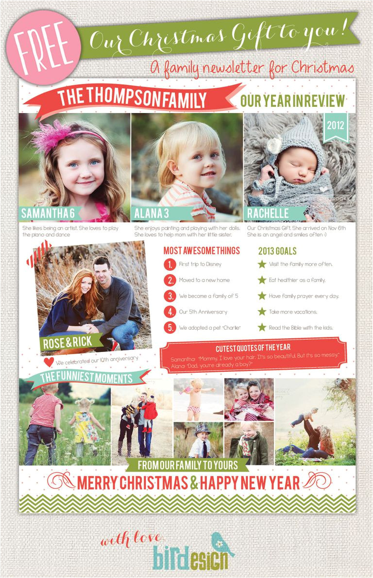 free christmas letter templates 1356285