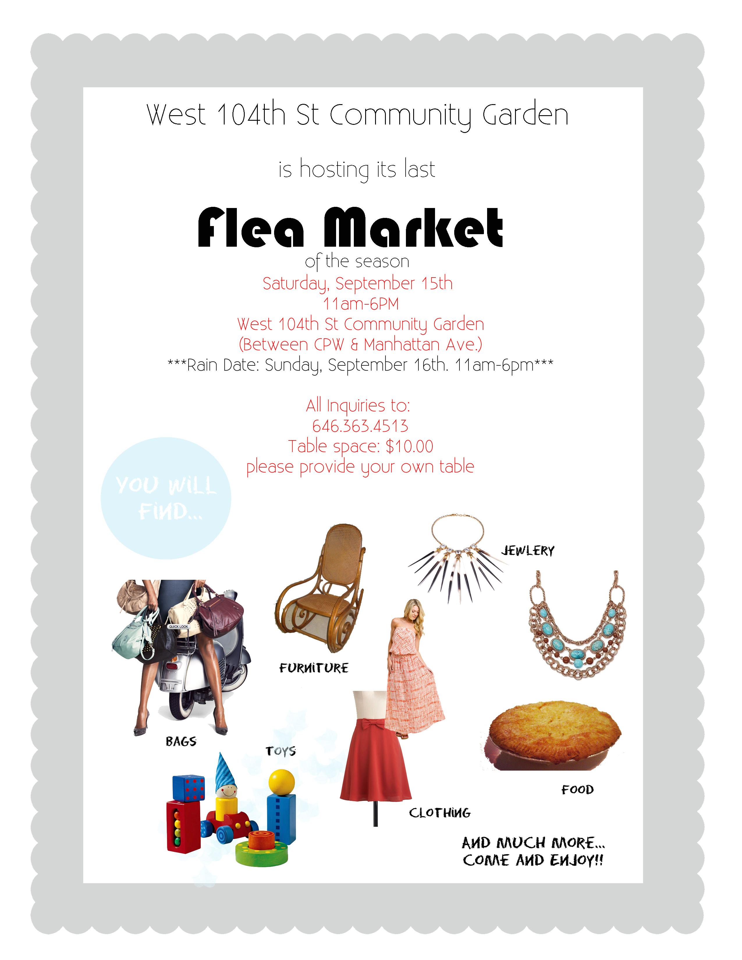 flea market logo cliparts