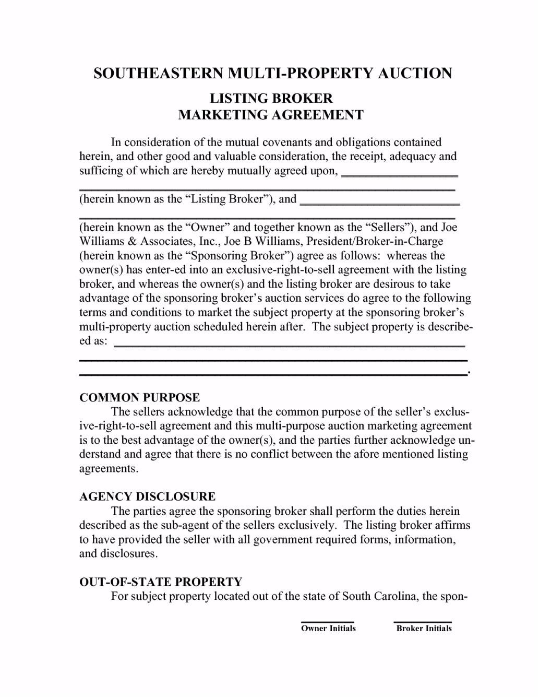 food broker contract template food broker overview 8 728