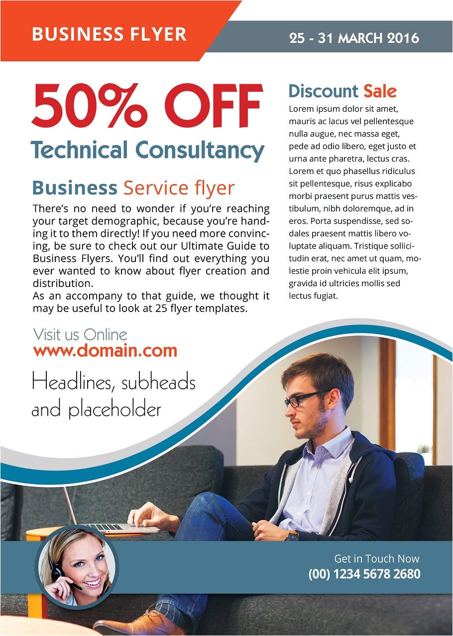 Free Advertising Flyer Design Templates Advertising Flyer Template Photoshop Version Free