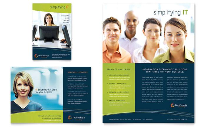 free sample print ad template design