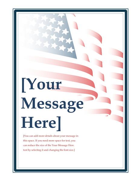 american flag flyer tm02806352