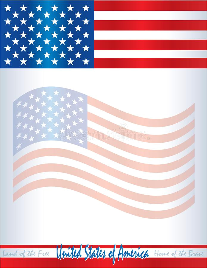 usa american flag template poster background united states america postcard flyer web presentation image108559167