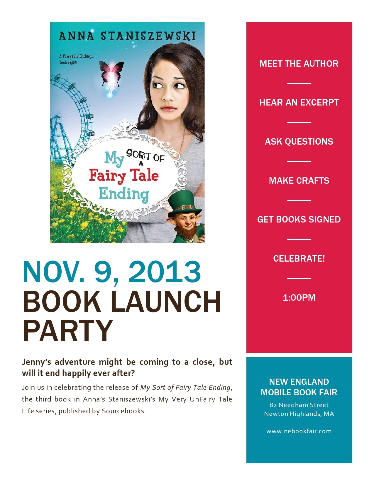 p book launch flyer template 15831