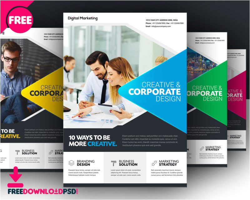 free business flyer template
