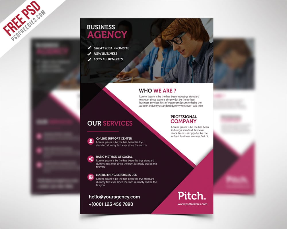 free flyer templates 2014