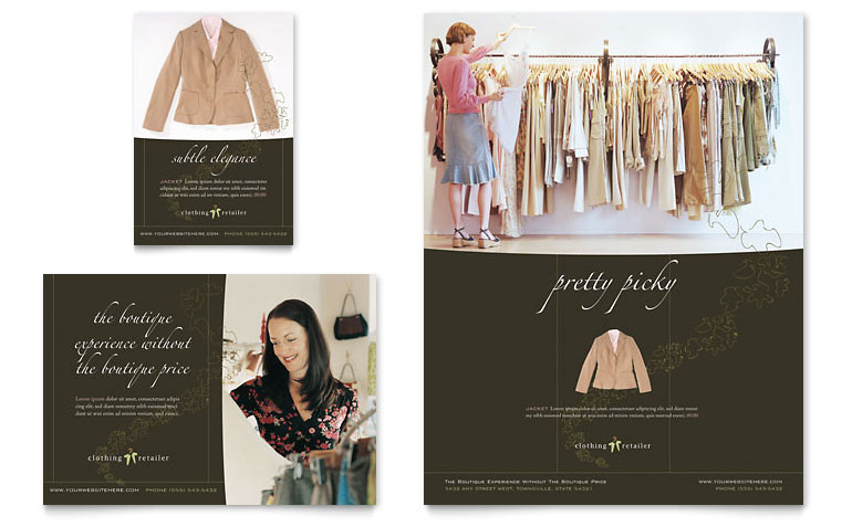 womens clothing store flyer ad templates gb0660701d