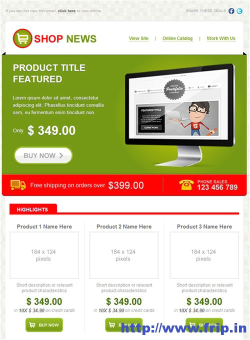 best 40 shopping ecommerce email templates