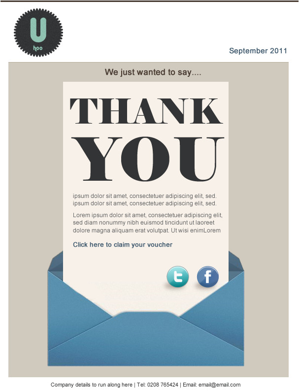 10 brand new free email marketing templates have arrived