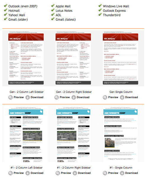 65529 12 free email marketing templates for small businesses