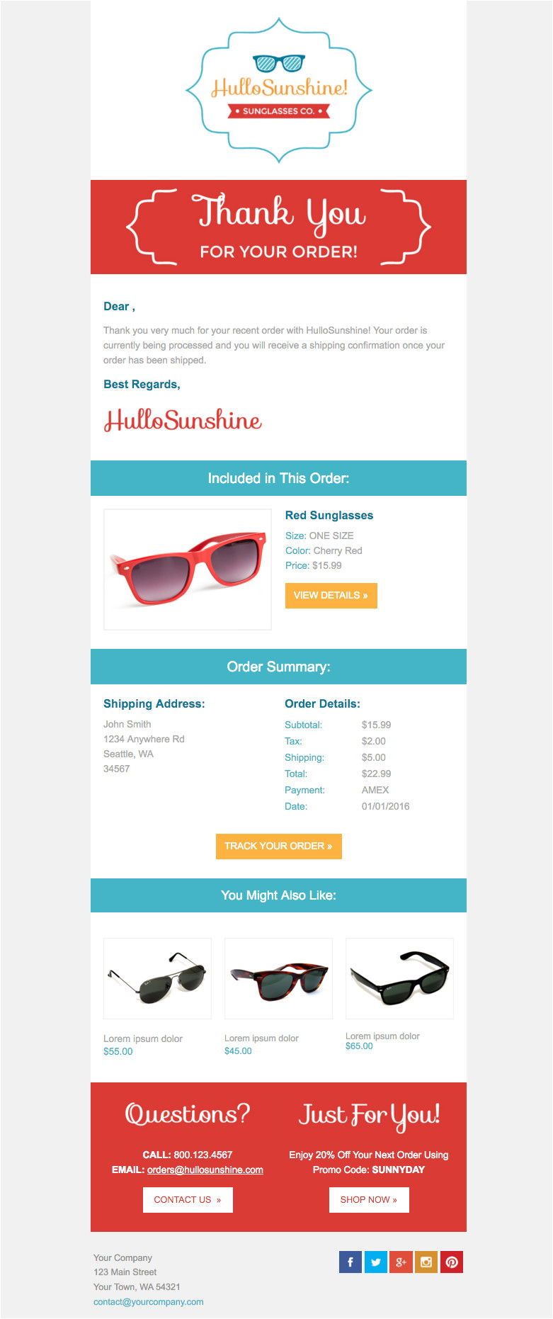 10 free responsive email templates