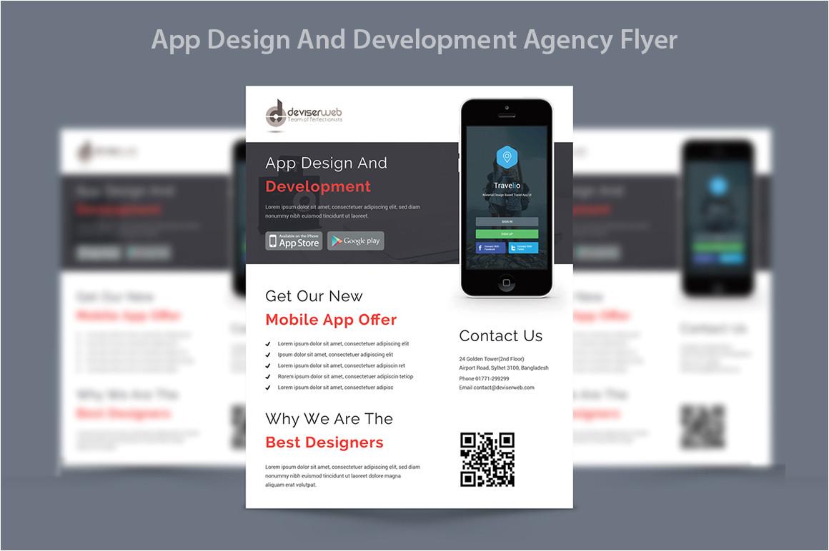 230098 app design development agency flyer