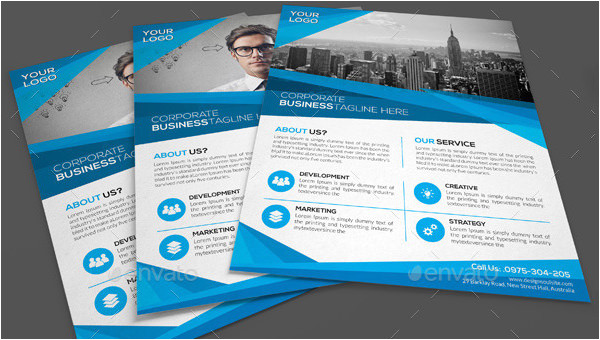 word flyer template