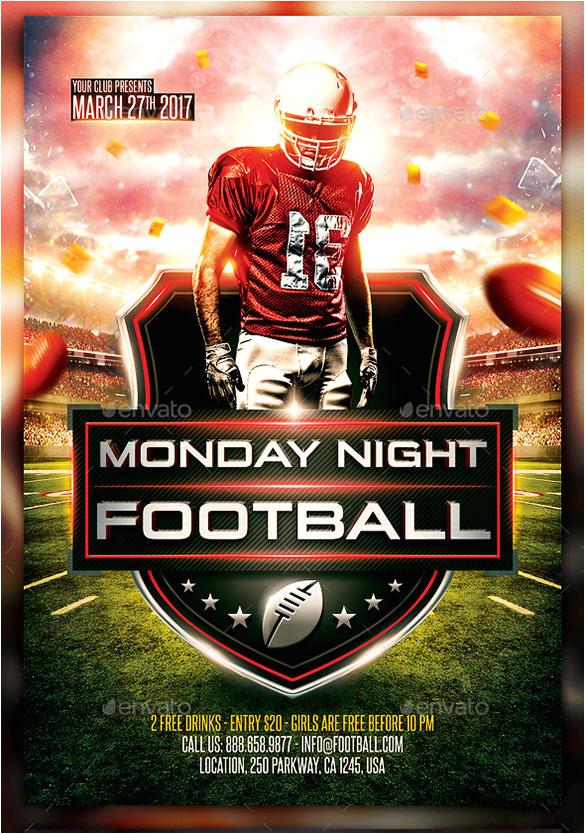 Free Football Flyer Design Templates 28 Football Flyer Templates Psd Eps Ai Indesign