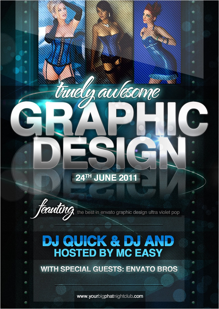Free Graphic Design Templates for Flyers 39 Graphic Design 39 Nightclub event Psd Flyer Template Flickr