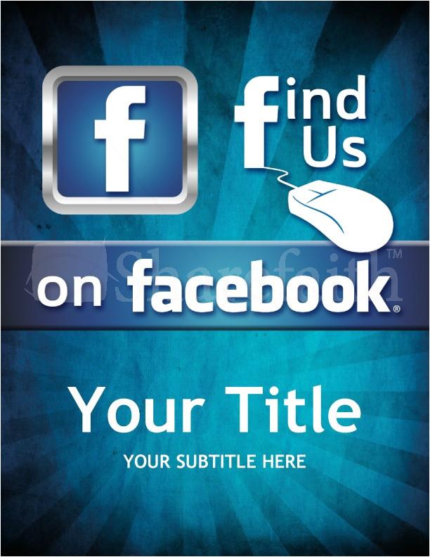 facebook church flyer