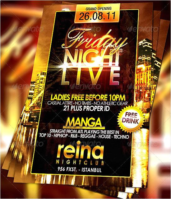 Free Nightclub Flyer Templates 160 Free and Premium Psd Flyer Design Templates Print