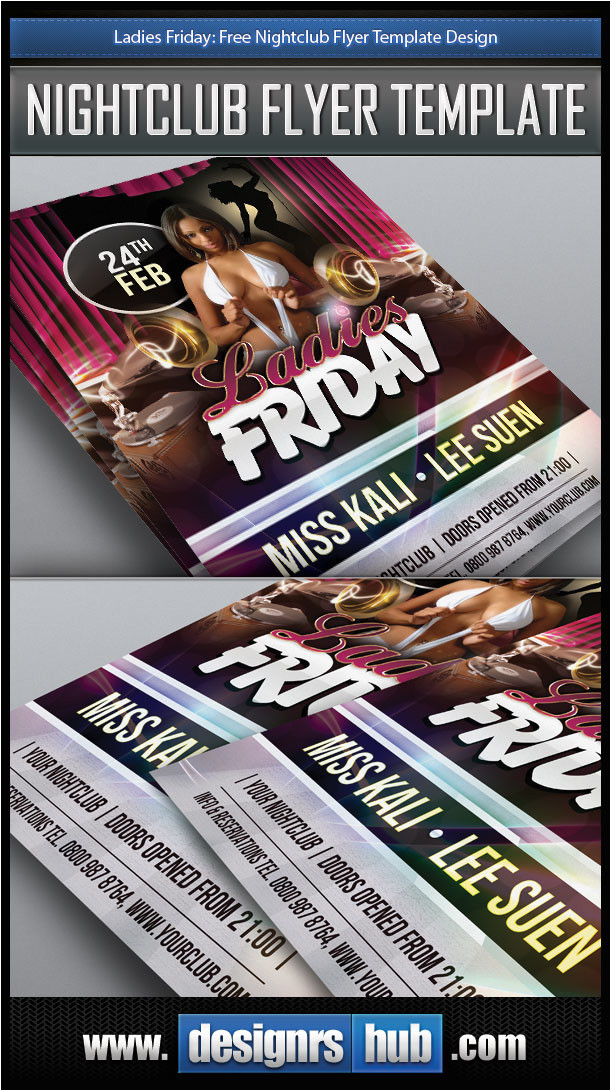 free nightclub flyer template