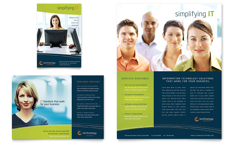 free word flyer templates download