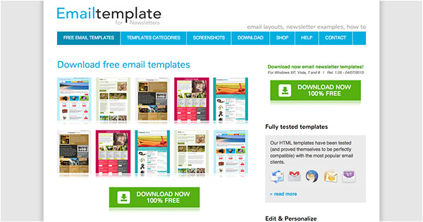 Free Online Newsletter Templates for Email the Best Places to Find Free Newsletter Templates and How