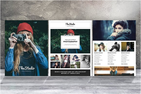 583109 photography flyer template