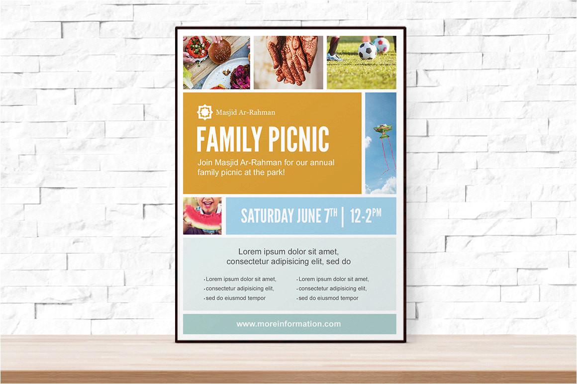 diy printable picnic collage event