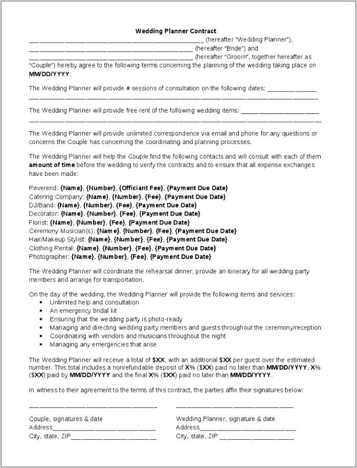 pre sale professional organizer contract template the contract free professional organizer contract template unique doc xls letter templates tieit prlai