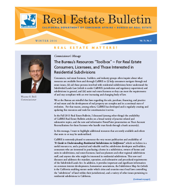 sample real estate newsletter