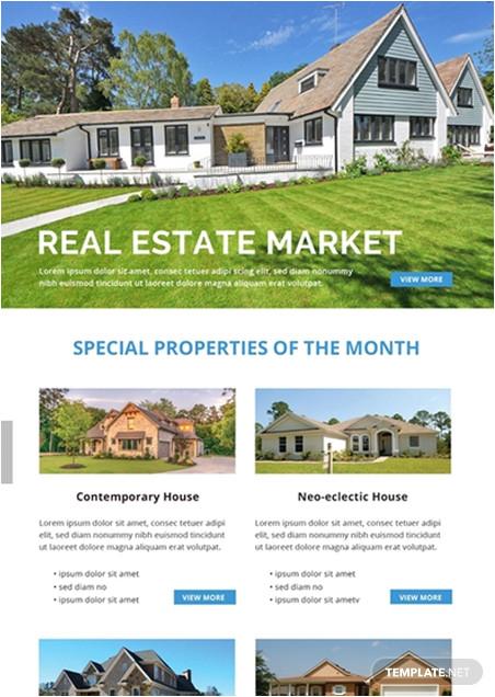 real estate email newsletter