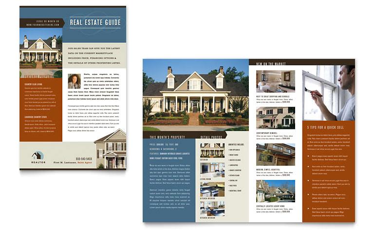real estate agent realtor newsletter templates re0040301d