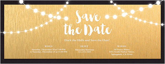 birthday save the date