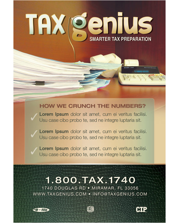 Free Tax Preparation Flyers Templates 27 Income Tax Flyer Templates Free Premium Download