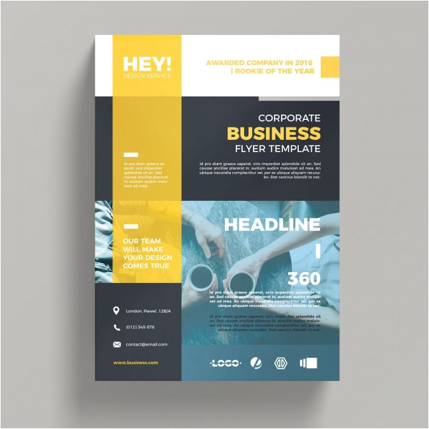 creative corporate business flyer template 1219138