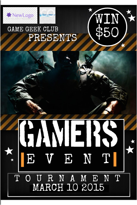Free Video Game Flyer Template Game Flyer Template Postermywall