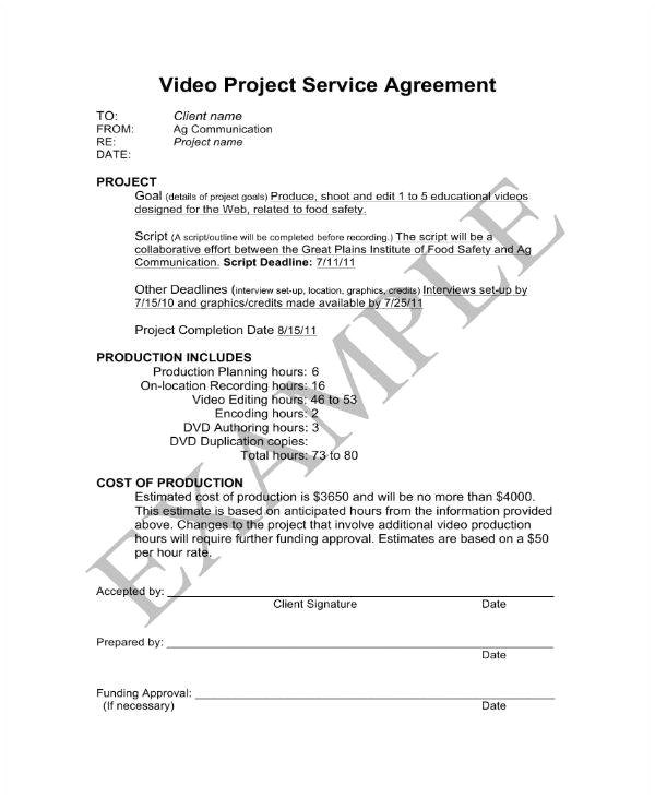 freelance video contract templates