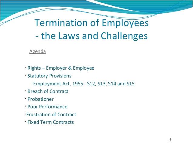 employee terminationlawsinmalaysia
