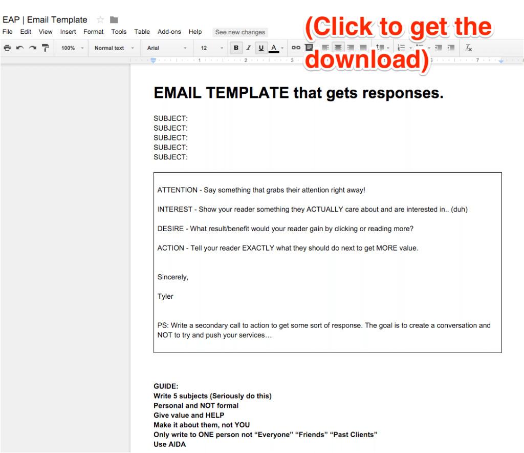real estate emails