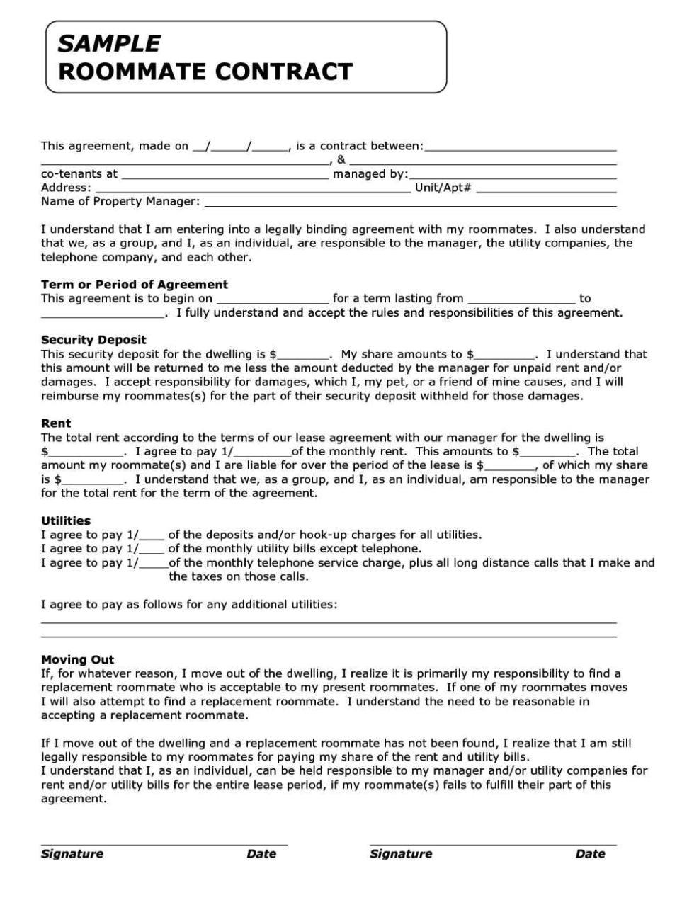 Funny Contracts Template Funny Contracts Template Sampletemplatess Sampletemplatess