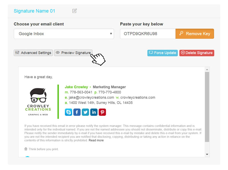 Gmail Email Template and Snippet Manager Browser Extension Email Signatures Email Signature Rescue