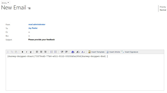 Gmail Email Template and Snippet Manager Distributing A Survey Using Voice Of the Customer