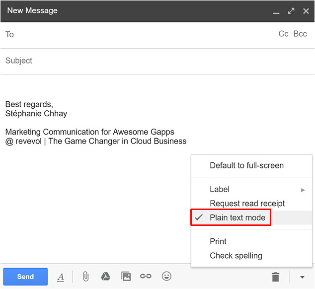 Gmail Email Template Css Code and Create Your Own Template In Gmail Using HTML Css