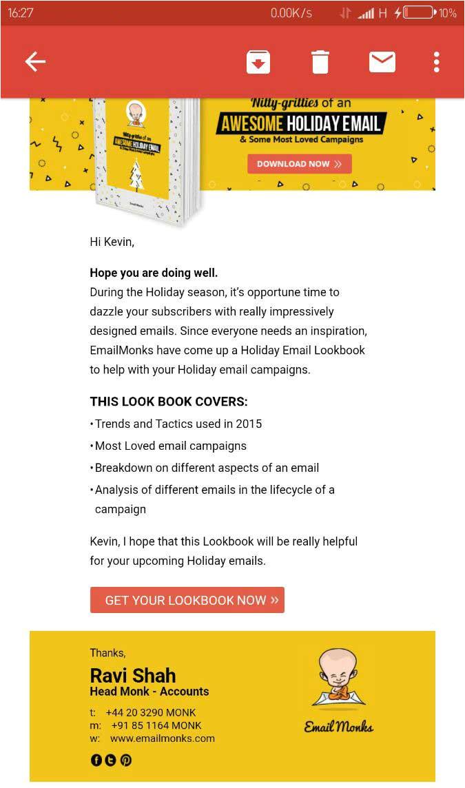 desktop layout gmail responsive email templates