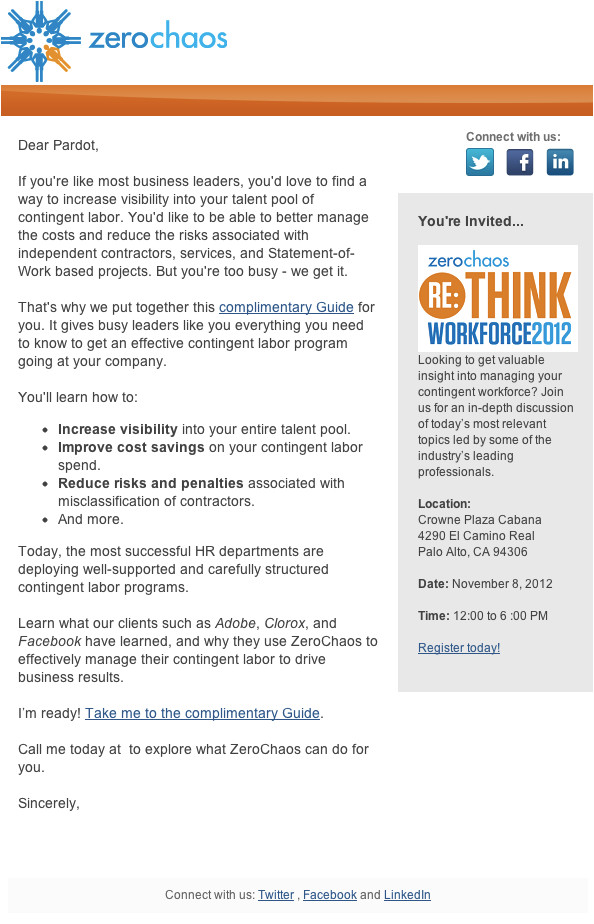7 examples successful email templates case study
