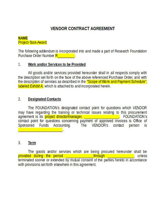 good faith agreement templates in