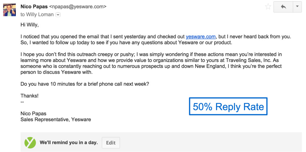 Good Follow Up Sales Email Template 4 Sales Follow Up Email Samples with Templates Ready to Go